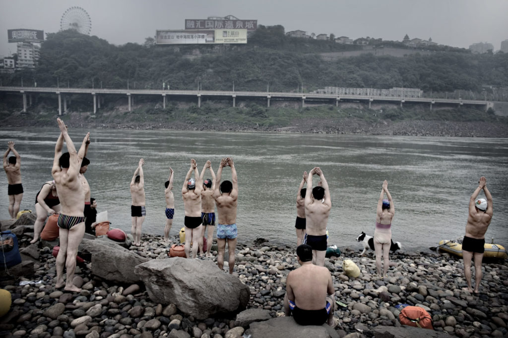 """CHINA, ChongqingEvery day at 5 pm, swimmers gather for a swim in the Yangtze river. """"The river is much cleaner now compared to five years ago. To swim in this river, is a way to make sure our health will stay fit and good"""" the swimmers says.The Yangtze River is the longest river in Asia and the third longest in the world, after the Nile in Africa and the Amazon in South America.  The river is about 6,300 km long and flows from its source in Qinghai Province, eastwards into the East China sea at Shanghai. The river supplies water for almost 200 cities along its banks and experts says that unless action is taken, the billions of tonnes of untreated industrial and agricultural waste and sewage are likely to kill what remains of the river«s plant and wildlife within five years."""