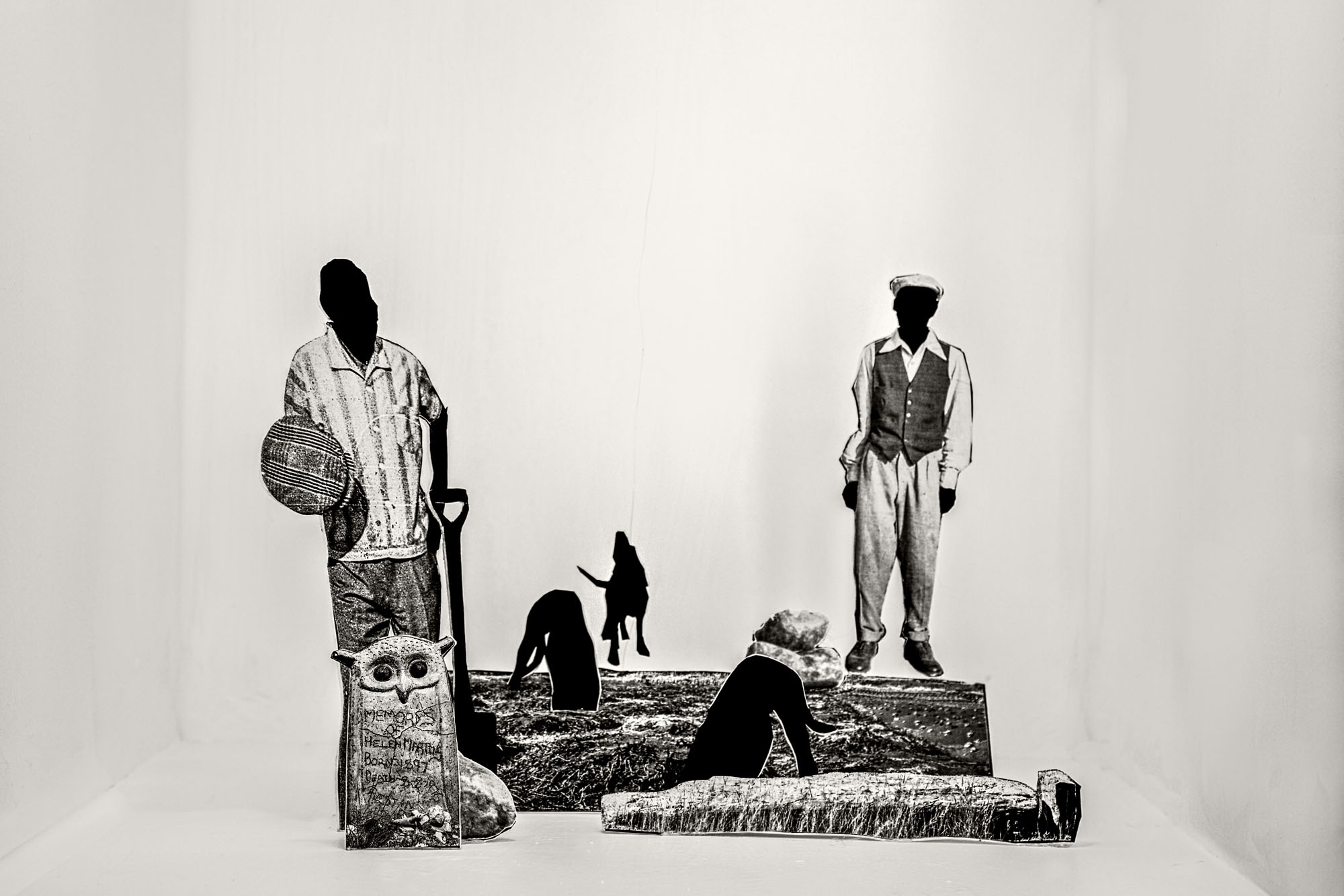 Lebohang_The nameless ones in the graves, Tell Tale, 2018